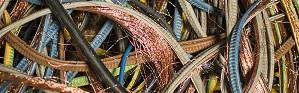 Reciclaje de cables de cobre